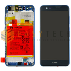 LCD DISPLAY PER HUAWEI P10 LITE BLU (ORIGINALE)