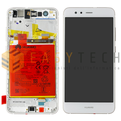 LCD DISPLAY PER HUAWEI P10 LITE BIANCO (ORIGINALE)