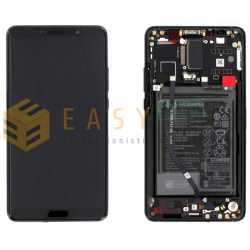 LCD DISPLAY PER HUAWEI MATE 10 ALP-L09 ALP-L29  NERO (ORIGINALE)