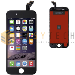 LCD DISPLAY PER IPHONE 6 NERO + FRAME (KINGWO)