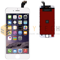 LCD DISPLAY PER IPHONE 6 BIANCO + FRAME (KINGWO)