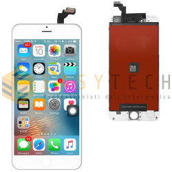 LCD DISPLAY PER IPHONE 6 PLUS BIANCO + FRAME (KINGWO)
