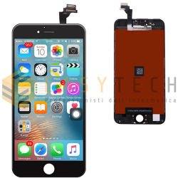 LCD DISPLAY PER IPHONE 6 PLUS NERO + FRAME (KINGWO)