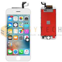 LCD DISPLAY PER IPHONE 6S BIANCO + FRAME (KINGWO)