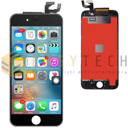 LCD DISPLAY PER IPHONE 6S NERO + FRAME (KINGWO)