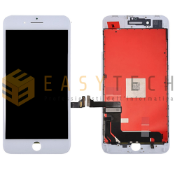 LCD DISPLAY PER IPHONE 8 BIANCO + FRAME (KINGWO)