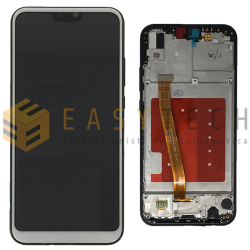 DISPLAY LCD PER HUAWEI P20 LITE BIANCO CON FRAME ANE-LX1 (COMPATIBILE)