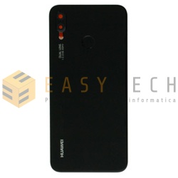 BACK COVER PER HUAWEI P20 LITE NERO (ORIGINALE)