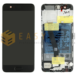 LCD DISPLAY PER HUAWEI P10 NERO (ORIGINALE)