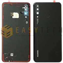 BACK COVER PER HUAWEI P30 LITE NERO (ORIGINALE)