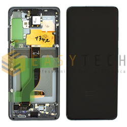 DISPLAY LCD PER SAMSUNG GALAXY S20 PLUS SM-G985 G986F COSMIC GRAY (ORIGINALE)