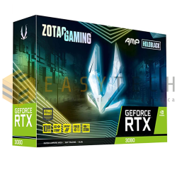 SCHEDA VIDEO RTX 3080 ZOTAC GAMING HOLO AMP! 10GB DDR6X LHR (LITE HASH RATE)