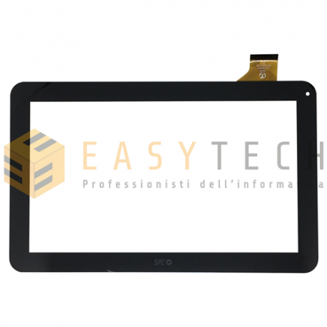 TOUCH SCREEN per Majestic TAB 411 3G VETRO Tablet Digitizer 10,1 Nero