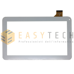 TOUCH SCREEN Majestic TAB-302 3G VETRO Tablet Digitizer 10,1 Bianco