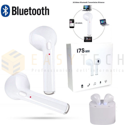 COPPIA EARPODS AURICOLARI BLUETOOTH CUFFIE WIRELESS PER SAMSUNG HUAWEI IPHONE LG
