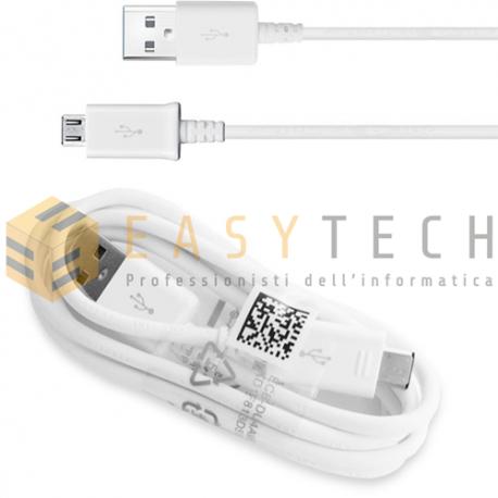 Cavo Samsung Originale Micro DATI 1 Metro ECB-DU4AWE USB S3 S4 S5 S6 NOTE