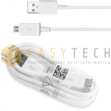 CAVO CAVETTO DATI MICRO USB ORIGINALE EP-DG925UWE PER SAMSUNG GALAXY S6 EDGE 1 M