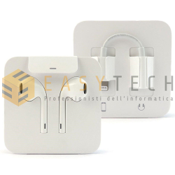 Cuffie Auricolari EarPods Originali MMTN2AM/A Per Apple iPhone 7 7 Plus Lightning (BULK)