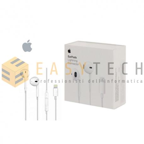 Cuffie Auricolari EarPods Originali MMTN2AM/A Per Apple iPhone 7 E 7 Plus Lightning