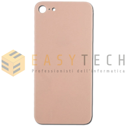 BACK COVER SCOCCA POSTERIORE IPHONE 8 ROSA (COMPATIBILE)