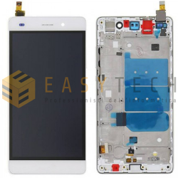 LCD DISPLAY PER HUAWEI P8 LITE BIANCO (COMPATIBILE)