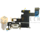 DOCK CONNETTORE DI RICARICA PER IPHONE 6 BIANCO (COMPATIBILE)