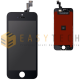 LCD DISPLAY PER IPHONE 5S NERO + FRAME (COMPATIBILE)
