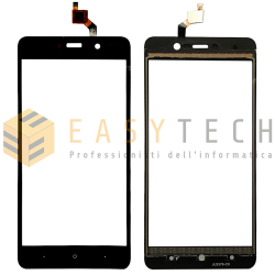TOUCH SCREEN WIKO LENNY 4 VETRO NERO (COMPATIBILE)