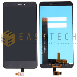 DISPLAY LCD PER XIAOMI REDMI NOTE 4 NERO SENZA FRAME (COMPATIBILE)