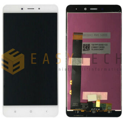 DISPLAY LCD PER XIAOMI REDMI NOTE 4 BIANCO SENZA FRAME (COMPATIBILE)