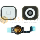 TASTO HOME PER IPHONE BUTTON COMPLETO 5 BIANCO (COMPATIBILE )