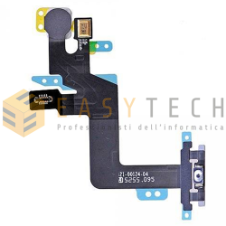 TASTO ON OFF ACCENSIONE + FLASH PER IPHONE 6S PLUS (COMPATIBILE)