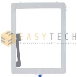 TOUCH SCREEN PER IPAD 4 A1458 A1459 A1460 WiFi 3G BIANCO (COMPATIBILE)