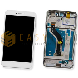 DISPLAY LCD PER HUAWEI P8 LITE 2017 BIANCO CON FRAME (COMPATIBILE)