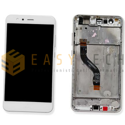 DISPLAY LCD PER HUAWEI P10 LITE BIANCO CON FRAME (COMPATIBILE)