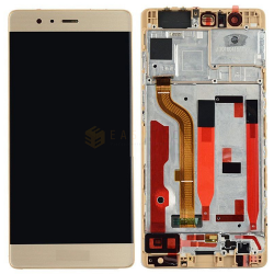DISPLAY LCD PER HUAWEI P9 ORO CON FRAME (COMPATIBILE)