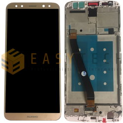 LCD DISPLAY PER HUAWEI MATE 10 LITE RNE-L21 ORO (COMPATIBILE)