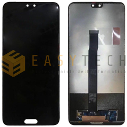 LCD DISPLAY PER HUAWEI P20 EML-L09 NERO (COMPATIBILE)