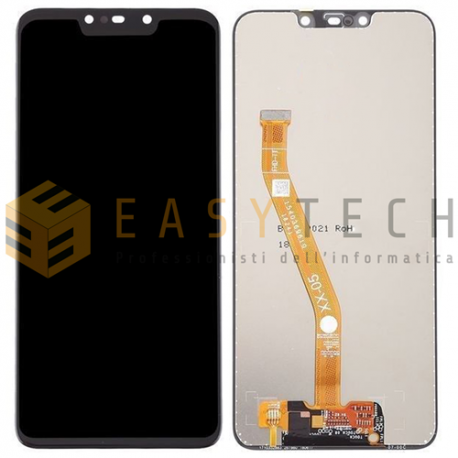 LCD DISPLAY Per HUAWEI P SMART PLUS INE-LX1 NOVA 3i INE-LX2 NERO (COMPATIBILE)