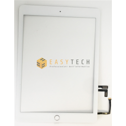 TOUCH SCREEN Per Apple iPad 5 Air A1822 A1823 WiFi 3G VETRO Bianco (COMPATIBILE)