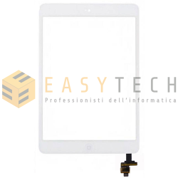 TOUCH SCREEN PER IPAD MINI A1432 A1454 A1455 WiFi 3G BIANCO (COMPATIBILE)