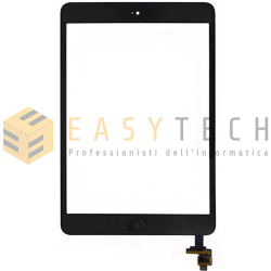 TOUCH SCREEN PER IPAD MINI A1432 A1454 A1455 WiFi 3G NERO (COMPATIBILE)