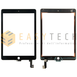 TOUCH SCREEN PER IPAD 6 AIR 2 A1566 A1567 WiFi 3G NERO (COMPATIBILE)