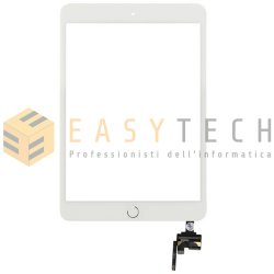 TOUCH SCREEN PER IPAD MINI 3 A1599 A1600 WiFi 3G BIANCO (COMPATIBILE)