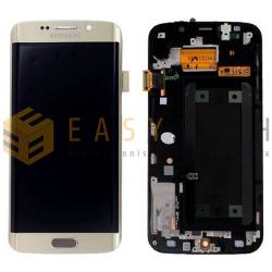 DISPLAY SAMSUNG GALAXY S6 EDGE G925F ORO (ORIGINALE)
