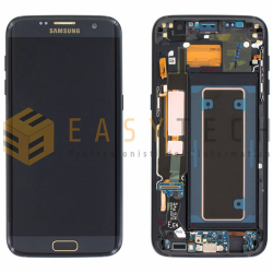 LCD DISPLAY PER SAMSUNG GALAXY S7 EDGE G935F NERO (ORIGINALE)