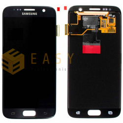 LCD DISPLAY PER SAMSUNG GALAXY S7 SM-G930F NERO (ORIGINALE)