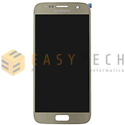 LCD DISPLAY PER SAMSUNG GALAXY S7 SM-G930F ORO (ORIGINALE)
