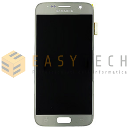 LCD DISPLAY PER SAMSUNG GALAXY S7 SM-G930F SILVER (ORIGINALE)