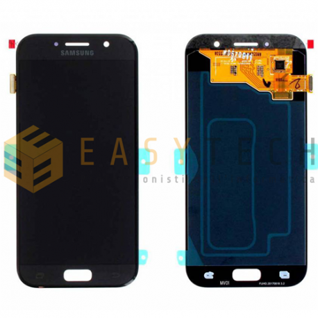 LCD DISPLAY PER SAMSUNG GALAXY A5 2017 A520F NERO (ORIGINALE)